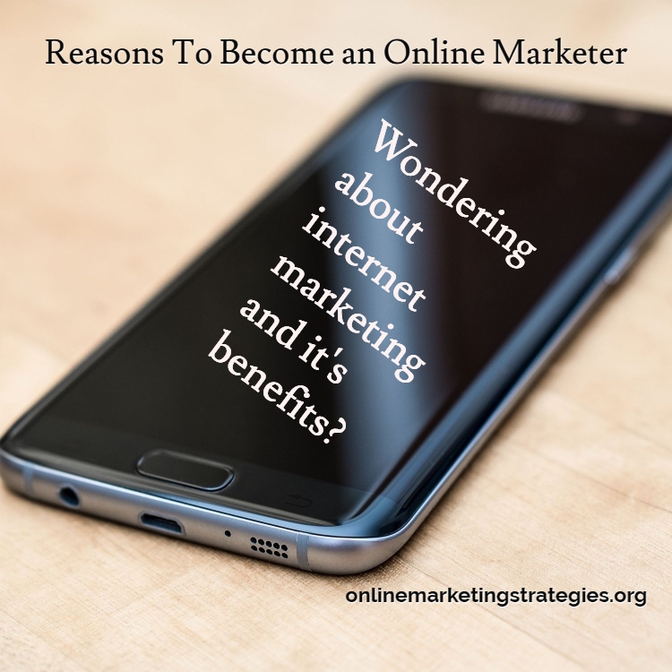 Wondering about the internet marketing field and